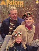 Patons Classics Family Accessories Knitting Pattern 945 -30 Days To Shop & Pay! - $2.67