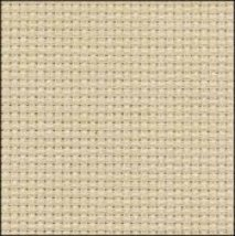 Bone 14ct Aida Hand Over Dyed 35x39 cross stitch fabric Fabric Flair - $59.40