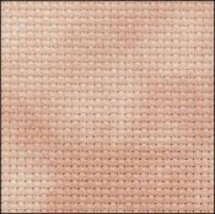 Russet 14ct Aida Hand Over Dyed 35x39 cross stitch fabric Fabric Flair - $59.40
