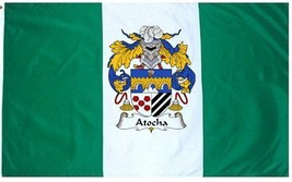 Atocha Coat of Arms Flag / Family Crest Flag - $29.99