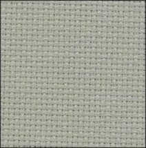 Smokey Blue 14ct Aida Hand Over Dyed 35x19 cross stitch fabric Fabric Flair - $29.70