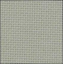 Smokey Blue 14ct Aida Hand Over Dyed 19x17 cross stitch fabric Zweigart - $14.65