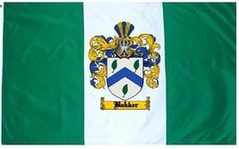 Bakker Coat of Arms Flag / Family Crest Flag - $29.99