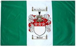 Ballot Coat of Arms Flag / Family Crest Flag - $29.99