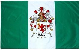 Balser Coat of Arms Flag / Family Crest Flag - $29.99