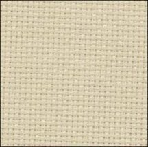 Stone 14ct Aida 19x17 cross stitch fabric Zweigart - $14.65