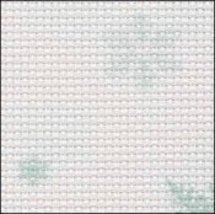 Snowflakes 14ct Aida Hand Over Dyed 35x39 cross stitch fabric Fabric Flair - $59.40