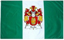 Beczka Coat of Arms Flag / Family Crest Flag - $29.99