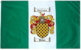 Below Coat of Arms Flag / Family Crest Flag - $29.99
