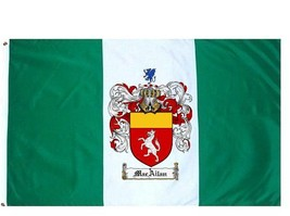 Macailan Coat of Arms Flag / Family Crest Flag - $29.99
