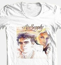 Air Supply T-shirt classic 1980's retro soft rock 100% cotton graphic tee image 1