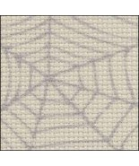 Cobweb 14ct Aida Hand Over Dyed 35x39 cross stitch fabric Fabric Flair - $59.40