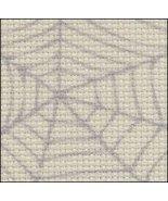 Cobweb 14ct Aida Hand Over Dyed 19x17 cross stitch fabric Zweigart - $14.65