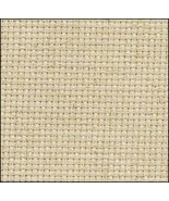 Oatmeal 14ct Aida 35x19 cross stitch fabric Fabric Flair - $19.80