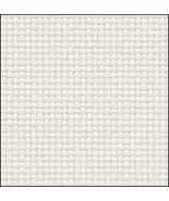 White Silver 14ct Aida 35x19 cross stitch fabric Fabric Flair - $19.80