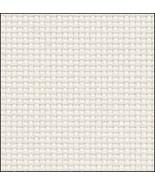 White Silver 14ct Aida 19x17 cross stitch fabric Zweigart - $9.90