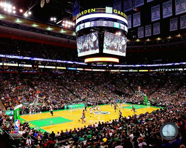 Td Garden Boston Celtics Photo Aaqk180 Sports Mem Cards