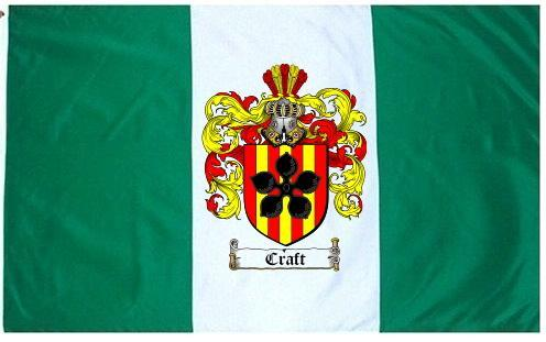 Craft-crest Coat of Arms Flag / Family Crest Flag