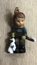 Goebel Berta Hummel Little Snow Shoveler Ornament  #935103 - $11.88