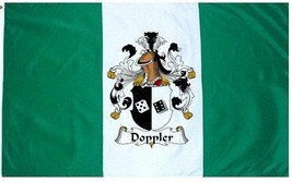 Doppler Coat of Arms Flag / Family Crest Flag - $29.99