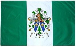 Effner Coat of Arms Flag / Family Crest Flag - $29.99