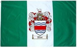 Eliot Coat of Arms Flag / Family Crest Flag - $29.99