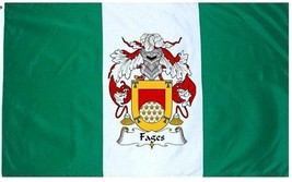 Fages Coat of Arms Flag / Family Crest Flag - $29.99
