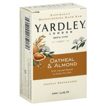 Yardley Oatmeal and Almond Bar Soap, 4.25 Oz. 20 Bars  - $26.72