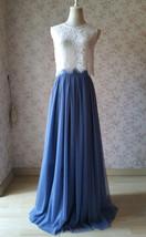 White Lace Sleeveless Crop Top Wedding Sleeveless Lace Blouse Round Neck US0-20 image 7