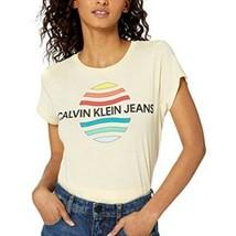 Calvin Klein | Size M Women's NWT Heritage Anise Flower Logo Shirt Short... - $27.72