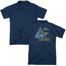 Batman - Knight Watch (Back Print) Mens Regular Fit Polo - $24.99+