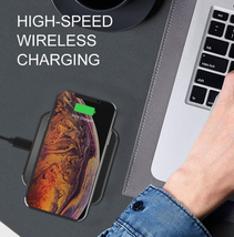 15W QI Wireless Charger Universal Quick Charging USB Fast Charger - $30.00