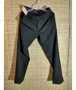 Haggar H26 Men's Straight Fit 4 Way Stretch Trousers - Black No Iron 30 ... - $21.51