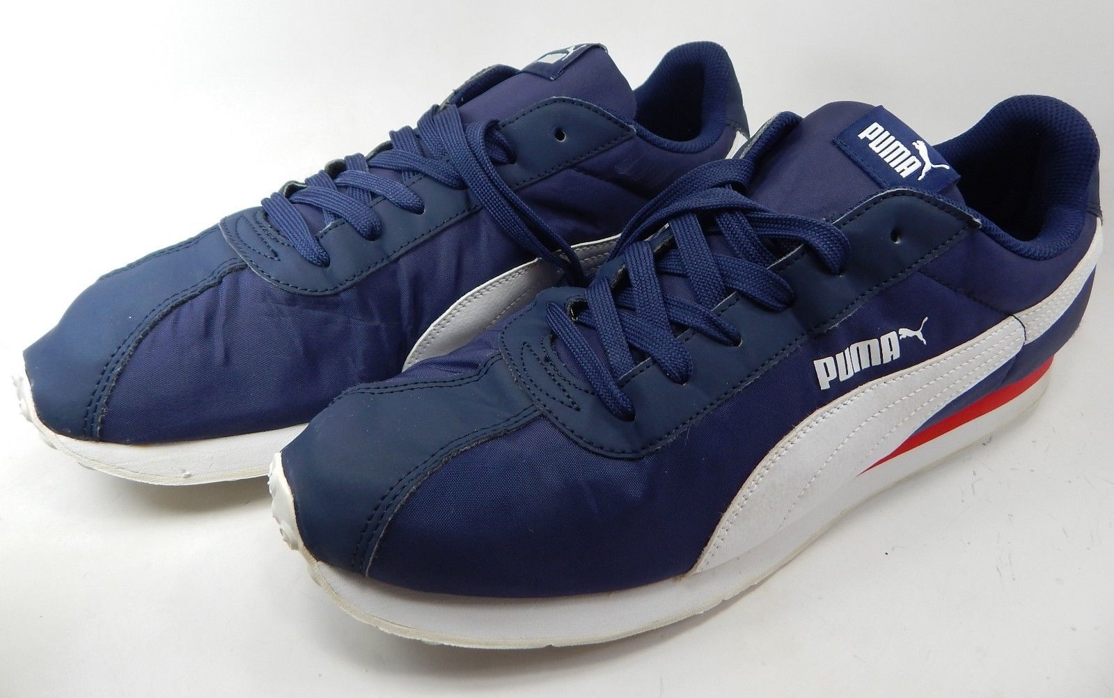 Puma Turin NL Trainers US 13 M (D) EU 47 Men's Nylon Casual Shoes Blue 362167 02