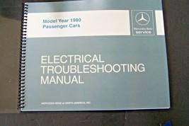 450sl Mercedes Shop Manual 1980 Electrical Service Repair Wiring Diagrams Book - $58.40