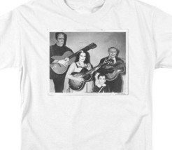 The Munsters t-shirt retro 60s comedy TV sitcom white graphic tee NBC793 image 2