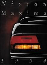1994 Nissan MAXIMA sales brochure catalog US 94 GXE SE 4DSC - $9.00