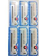 "6 x Sheaffer® ""K"" Ballpoint Pen Black Medium Refills Ball Point Pen BP B... - $22.49"