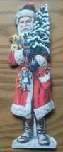 VINTAGE HALLMARK CHRISTMAS GREETINGS CARD ~ SANTA CLAUS ~ ST. NICK ~ SPO... - $4.94