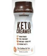 Cafegenix 8.5oz Ketogenic Lifestyle Keto Creamer Instant Ready For Coffe... - $26.99