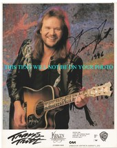 TRAVIS TRITT SIGNED AUTOGRAPHED 8x10 RP STUDIO PROMO PHOTO COUNTRY STAR - $17.69