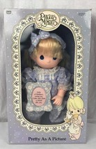 RoseArt 1992 Precious moments soft body doll vintage - $22.94
