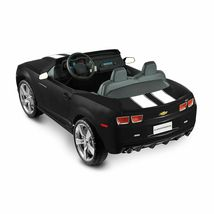 Kids Battery Operated Official NPL Chevrolet Racing Camaro 12 Volt Ride On Car image 9