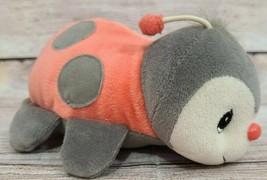 Enesco Precious Moments Tender Tails Plush Lady Bug Stuffed Animal Beanb... - $14.54