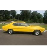 1973 Mercury Capri yellow   24X36 inch Poster   sports car   Awesome! - $21.77