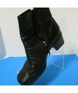 Bellini Sport Black Womens Ankle Boots Square Toe Block Heel Size 9.5M - $24.75