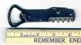 Rex Cutlery Joy Chrome Plated Corkscrew Bottle Opener Church Key Made in... - $44.62
