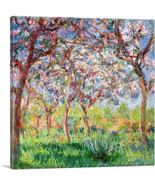 ARTCANVAS Giverny in Springtime Canvas Art Print by Claude Monet - $41.99 - $80.99