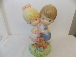 2002 Precious Moments Love One Another Ceramic Piggy Bank  - $30.00
