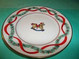 Fitz & Floyd, Japan, Fine Porcelain China Bread & Butter Plate, Rocking Horse - $14.50